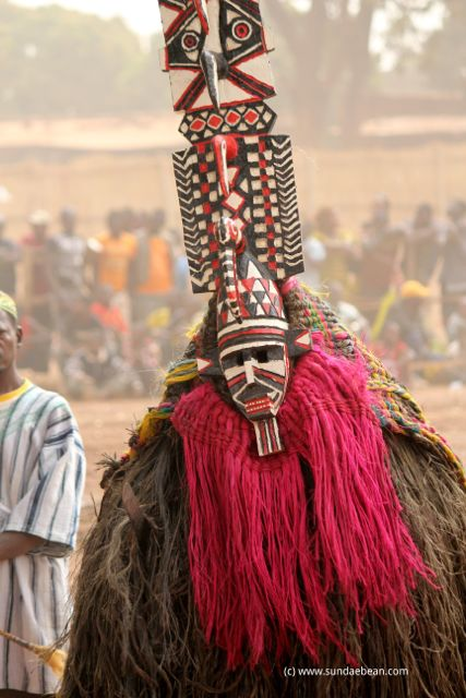 Participant in the Festival of Masks and Arts in Dédougou, Burkina Faso