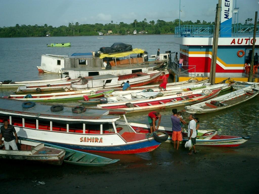 Amazonas 2011_Boote