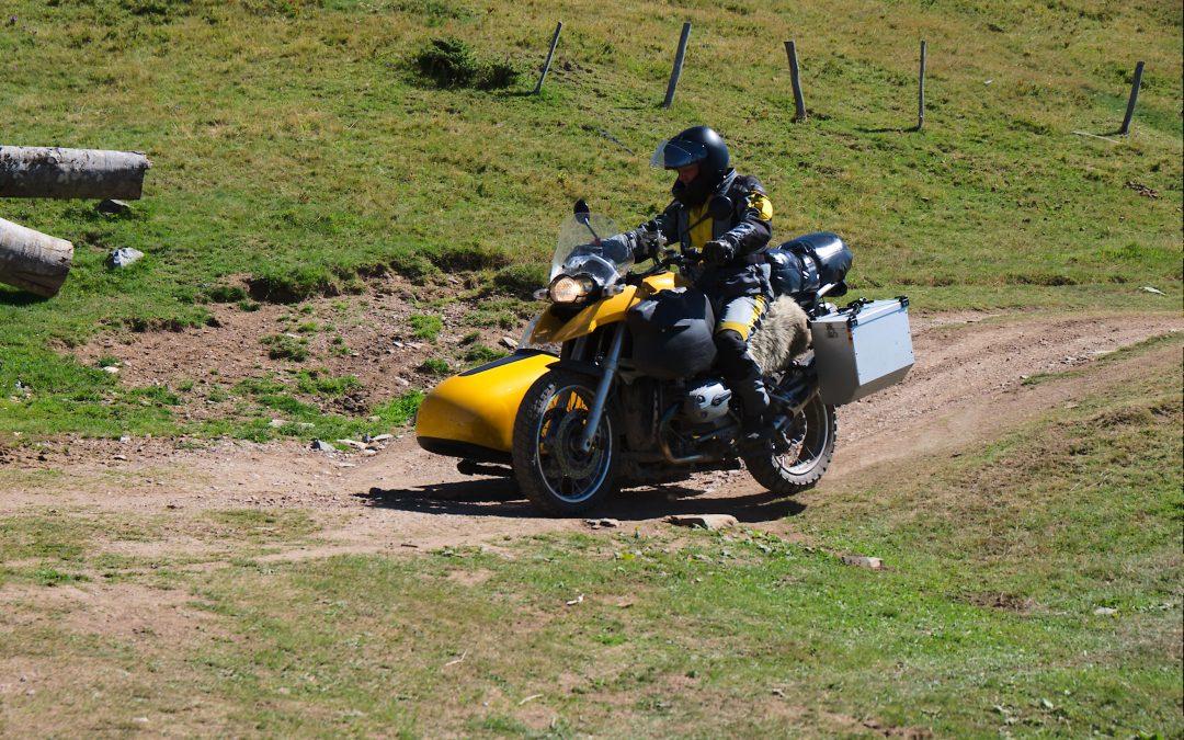 Weltreise mit Rolli und Motorrad